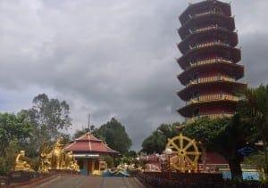 Tomohon Pagoda